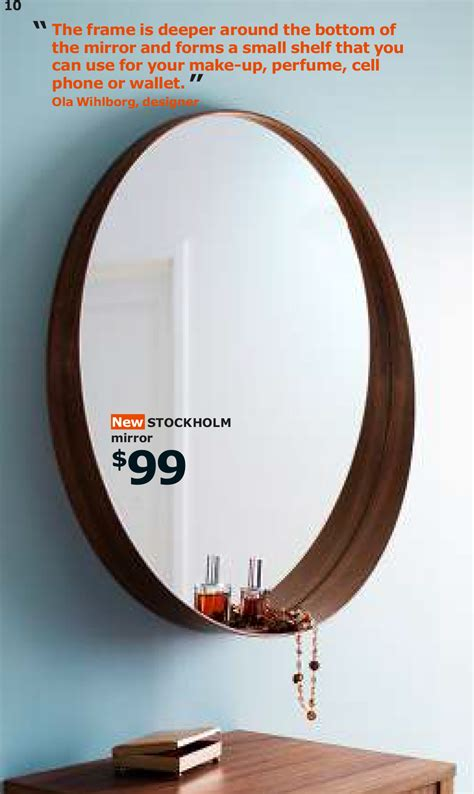 STOCKHOLM mirror $99.00 | Mirror, Contemporary bathrooms, Ikea