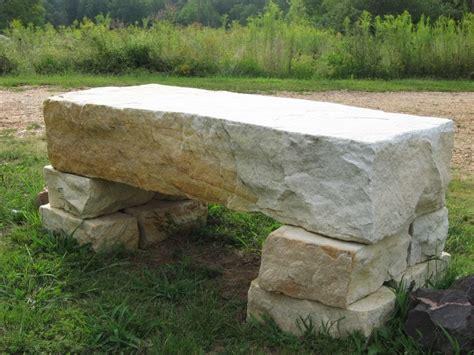 Stone Garden Bench   YouTube