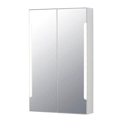STORJORM Peilikaappi 2 ovea/integr led lam   60x14x96 cm ...