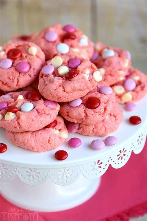 Strawberry and White Chocolate Cake Mix Cookies ...