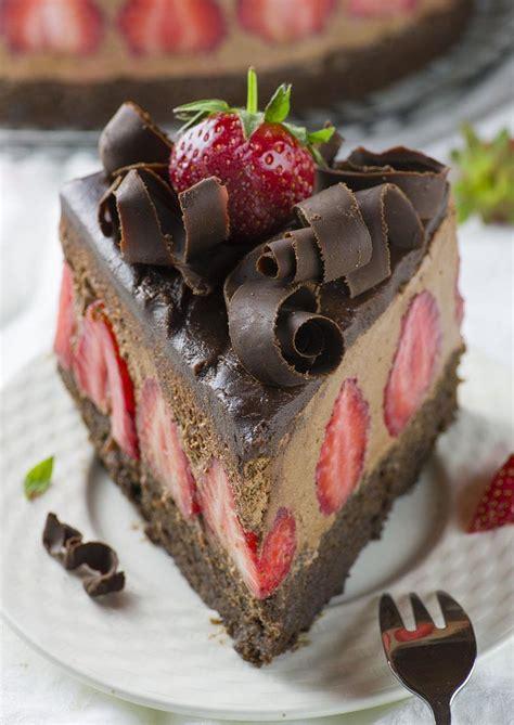 Strawberry Chocolate Cake   Chocolate Dessert Recipes ...