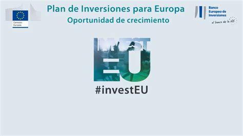 Streaming  El Plan de Inversiones para Europa. Una ...