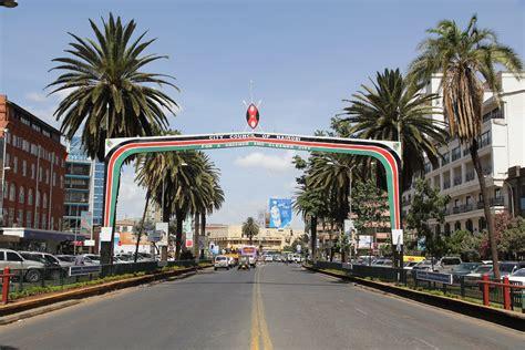 Street in Nairobi, Kenya