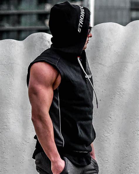 @strongliftwear Flex Compression Hoodies for men   Black ...