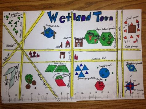 Students create a fun themed Geometry Town using parallel ...