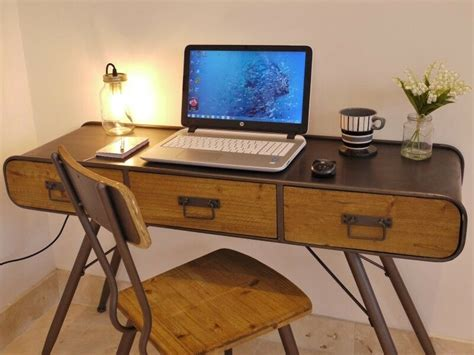 Stunning Urban Vintage Style Console table/computer Desk ...