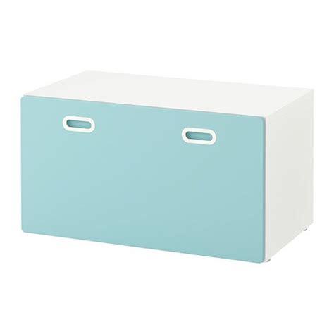 STUVA / FRITIDS Banco con almacenaje juguetes   blanco ...