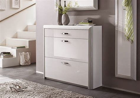 stylish gloss white shoe storage cabinet ideas for modern ...