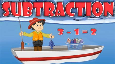 Subtraction   Basic Math For Kids, Educational Videos ...