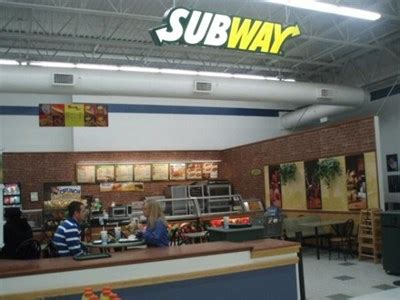 Subway   In Walmart   Georgetown, SC   Subway Restaurants ...