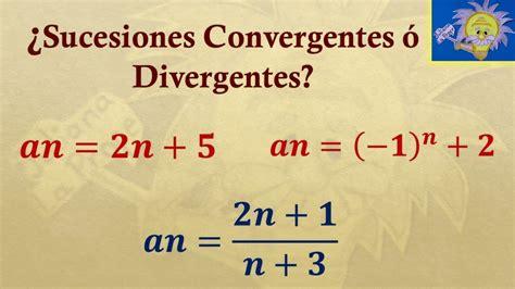 Sucesiones matematicas: Como saber si una sucesion es ...