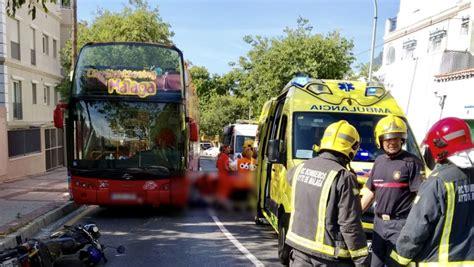Sucesos en Málaga: Atropellado un motorista por un autobús ...