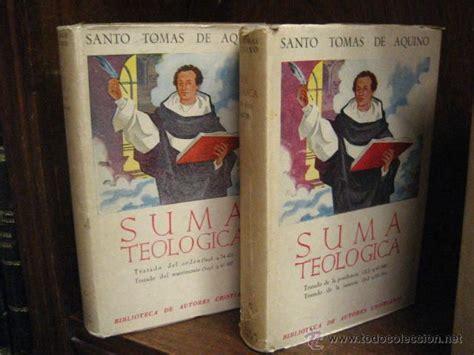 Suma teologica, santo tomas de aquino tomo viii   Vendido ...