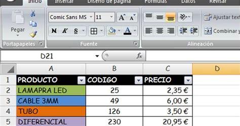 Sumar celdas de Excel por colores   Mil y una cosas