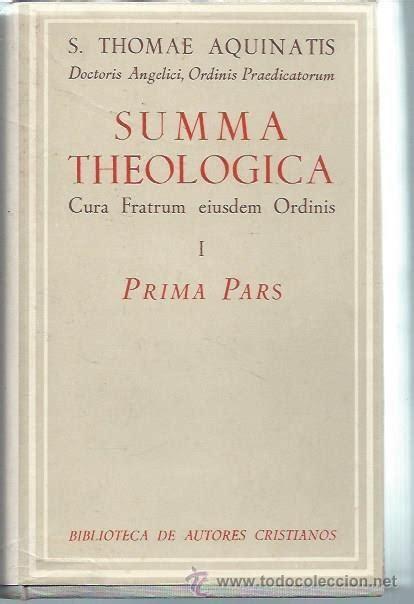 Summa theologiae i, suma teológica, santo tomás   Vendido ...