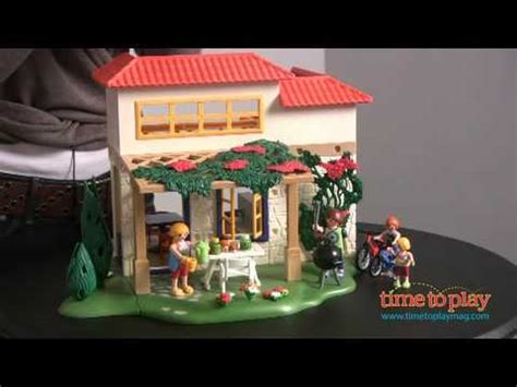 Summer House from Playmobil   YouTube