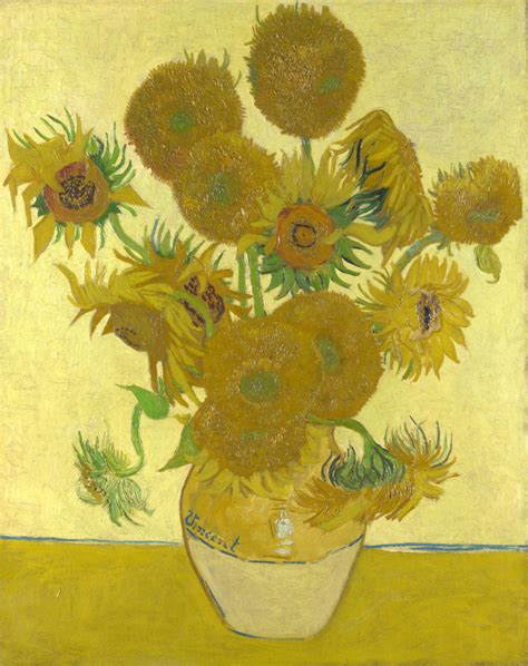 Sunflowers by Vincent Van Gogh – Facts & History about the ...