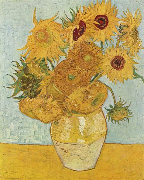 Sunflowers  Van Gogh series    Wikipedia