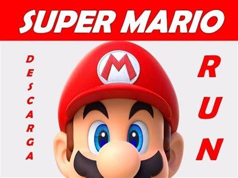 SUPER MARIO RUN descarga APK GRATIS nuevo super juego 2017 ...