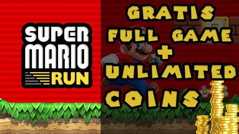Super Mario Run   Gratis Complete Game en Unlimited Coins ...