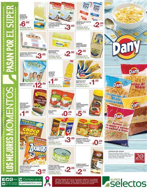 Super selectos las ofertas del dia con los productos del ...