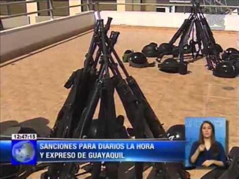 SUPERCOM sanciona a diarios La Hora y Expreso de Guayaquil ...