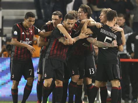 Supercoppa » News » AC Milan win the Italian Super Cup on ...