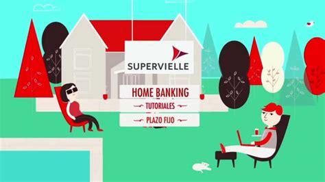 Supervielle Plazo Fijo Home Banking Personas Tutorial ...