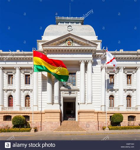 Supreme Court Of Bolivia In Sucre is located in Sucre, the ...