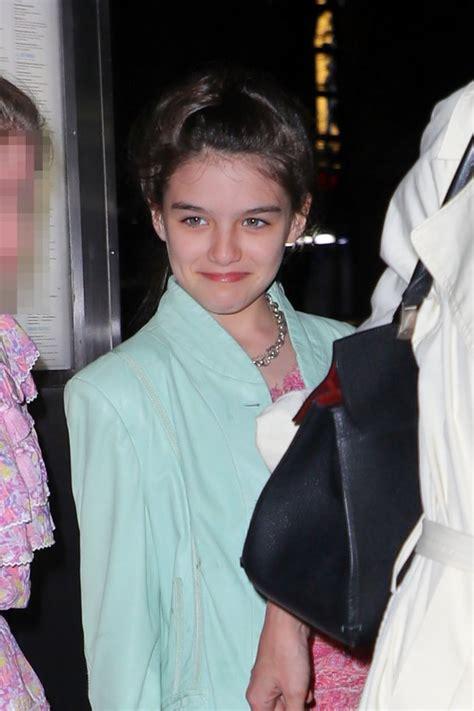 Suri Cruise celebrates 13th birthday with mum Katie Holmes ...