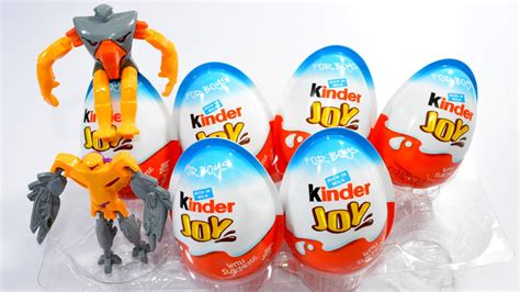 Surprise Eggs Kinder Joy Surprise Toys Assembling and De ...