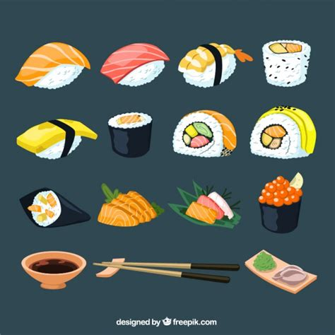 Sushi Vectors, Photos and PSD files | Free Download