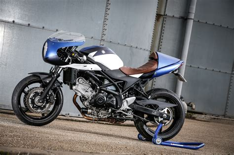 Suzuki SV650 Cafe Racer Custom Kikishop   RocketGarage ...