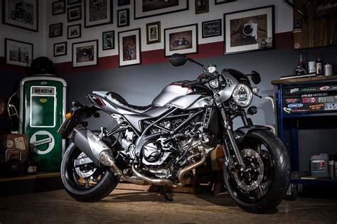 Suzuki SV650X 2018: la nueva Café Racer   Moto1Pro