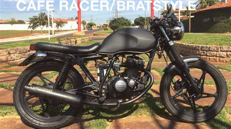 Suzuki Yes EN 125cc Cafe Racer/Bratstyle  Brasil    YouTube