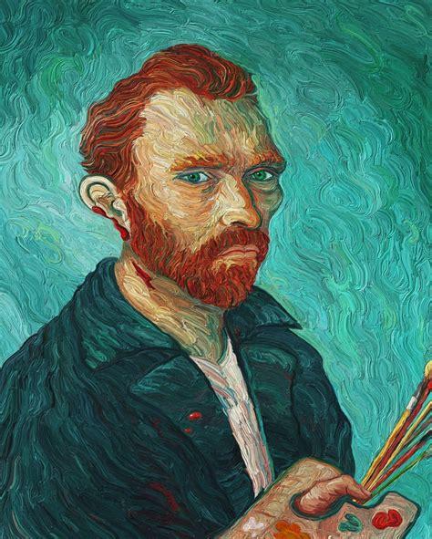 """Vincent Van Gogh Self Portrait with Cut Ear""  Tribute to ..."
