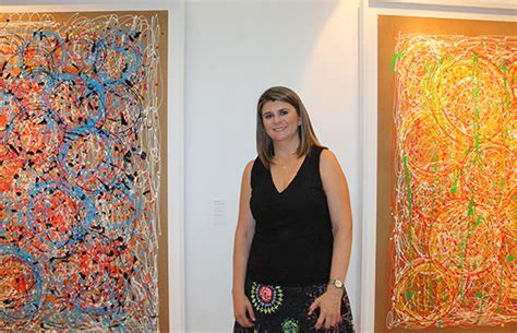 """""""Vivo"""" de Ana Liska en galería Guatemala   somosguate"""