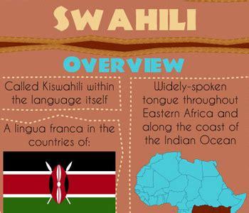 Swahili  African  Language