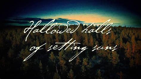 SWALLOW THE SUN   Heartstrings Shattering  Feat. Aleah ...