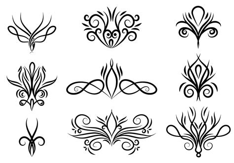 Swirls Free Vector Art    23373 Free Downloads