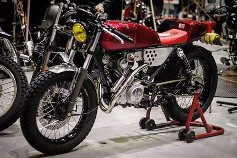 SYM Wolf 125 Cafe Racer by Liberal Custom Garage – BikeBound