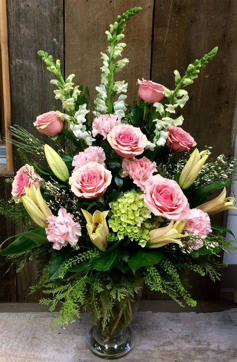 Sympathy Vase Arrangement ~ Large – The Village Green ...