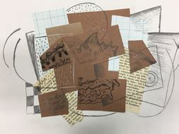Synthetic cubism with observational drawing lesson ...