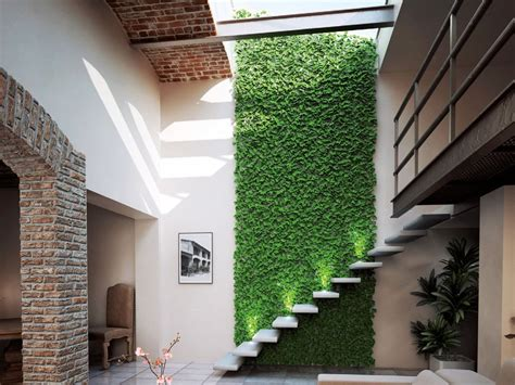 Synthetic grass indoor vertical garden DIVY PUZZLE by ...