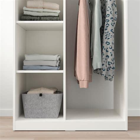 SYVDE Armario abierto, blanco   IKEA