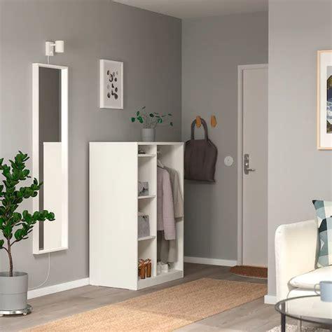 SYVDE Open wardrobe, white   IKEA en 2020 | Armario ...