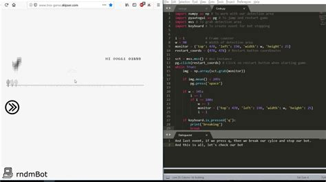 T Rex game python bot   YouTube