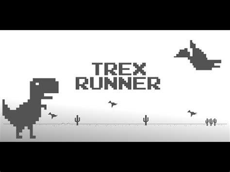 T Rex Run Hacked!  bot    Chrome Dinosaur Game   YouTube