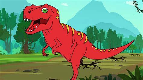 T rex  Tyrannosaurus Rex Dinosaur  song I Kid & family ...