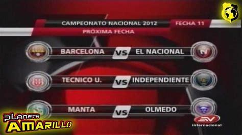 Tabla de posiciones,Proxima fecha campeonato ecuatoriano ...